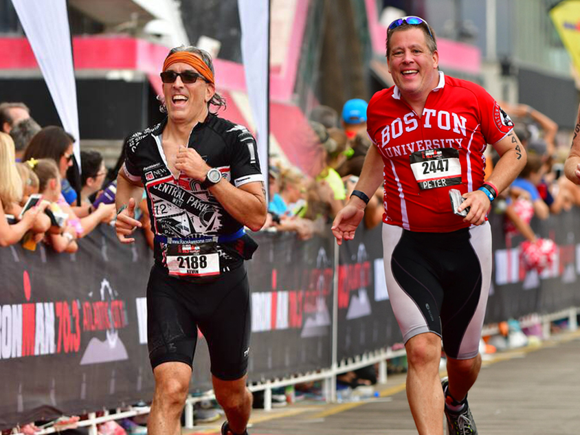 "Ironmen Peter Shankman and Kevin Kelly are ""Faster Than Normal"""