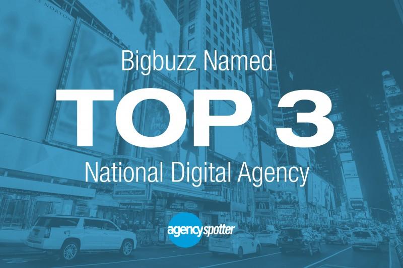 Bigbuzz Named in Top 3 National Best Digital Agencies