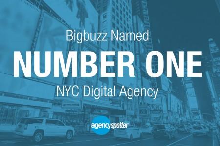 Bigbuzz Named #1 Digital Marketing Agency