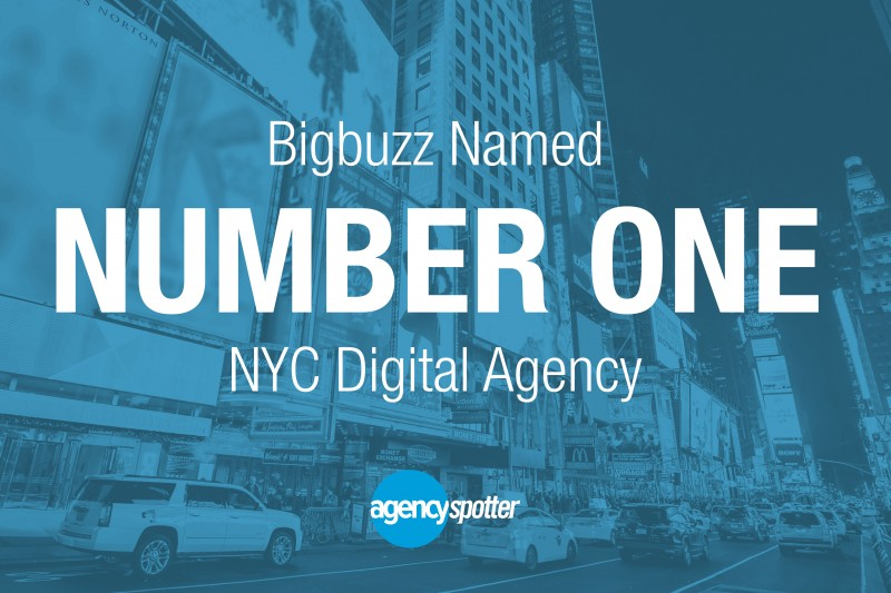 Bigbuzz Named #1 Digital Marketing Agency