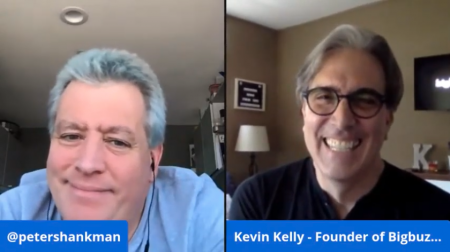 Kevin Kelly & Peter Shankman share 20 Minutes In Lockdown